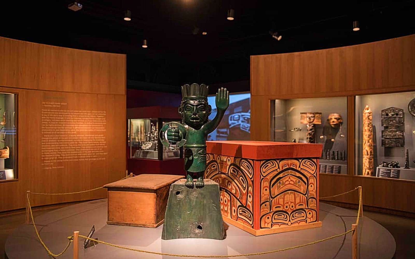 The Haida Now exhibit at the Museum of Vancouver