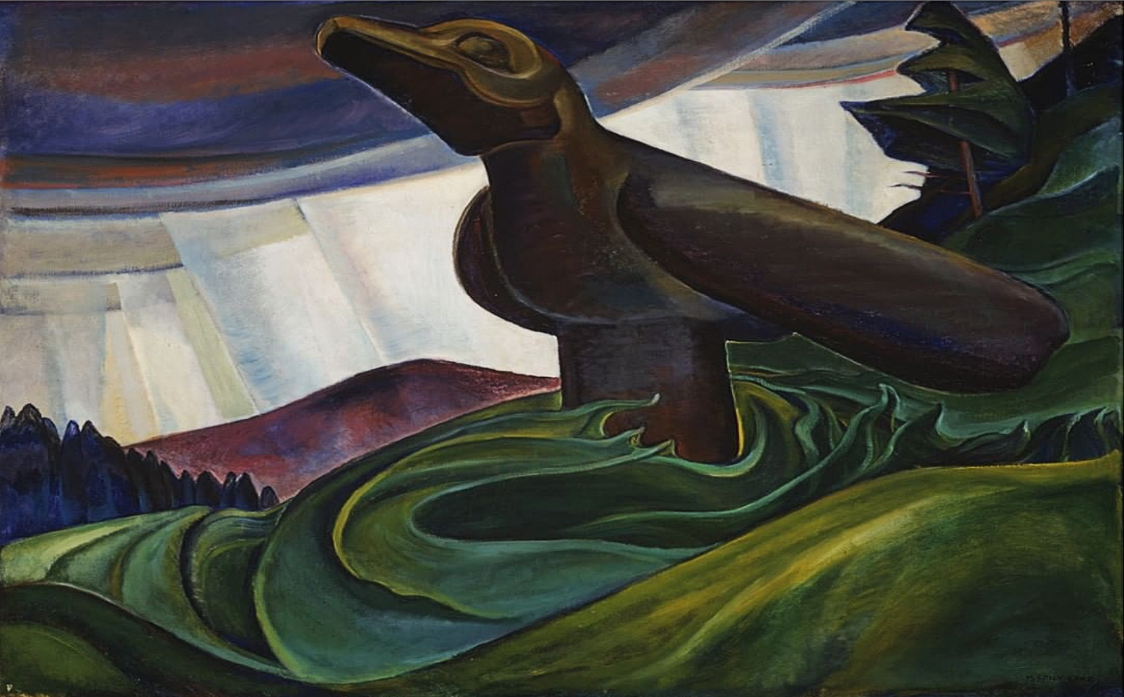 Big Raven, by Emily Carr