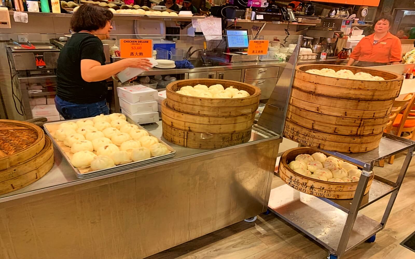 New Town Bakery, in Vancouver's Chinatown