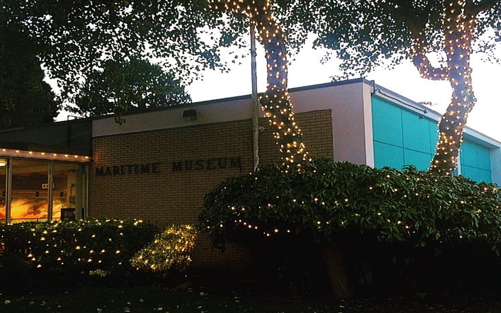 The Maritime Museum at Christmas time