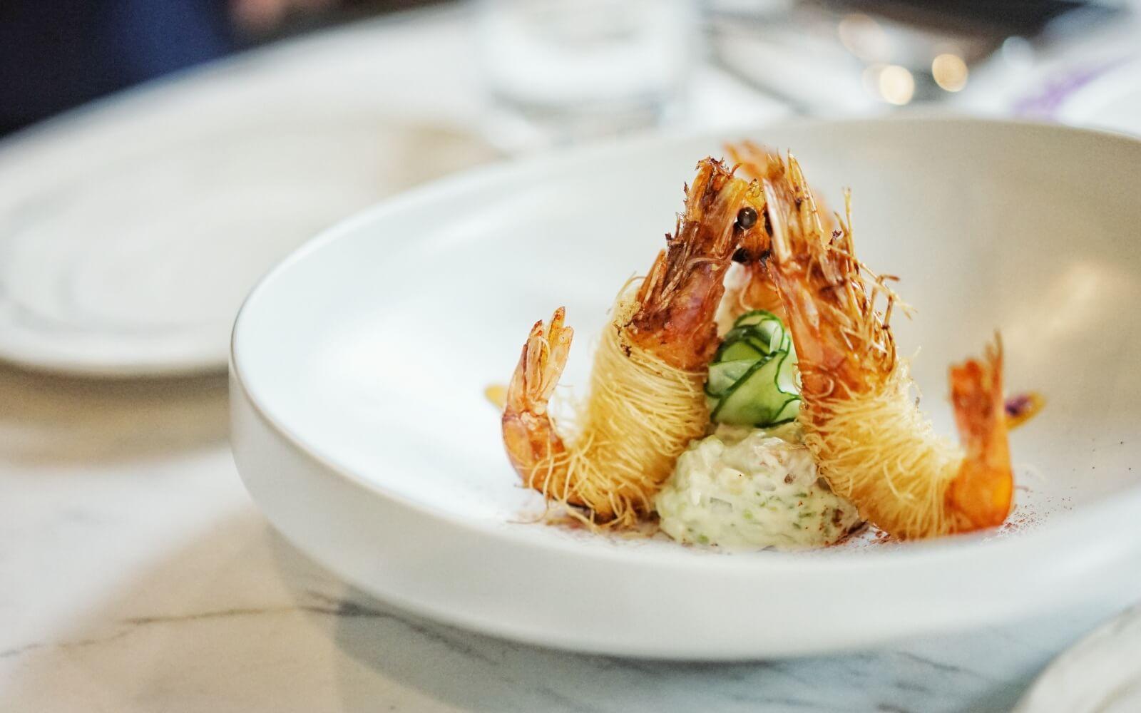 tempura prawn dish in vancouver bc yaletown