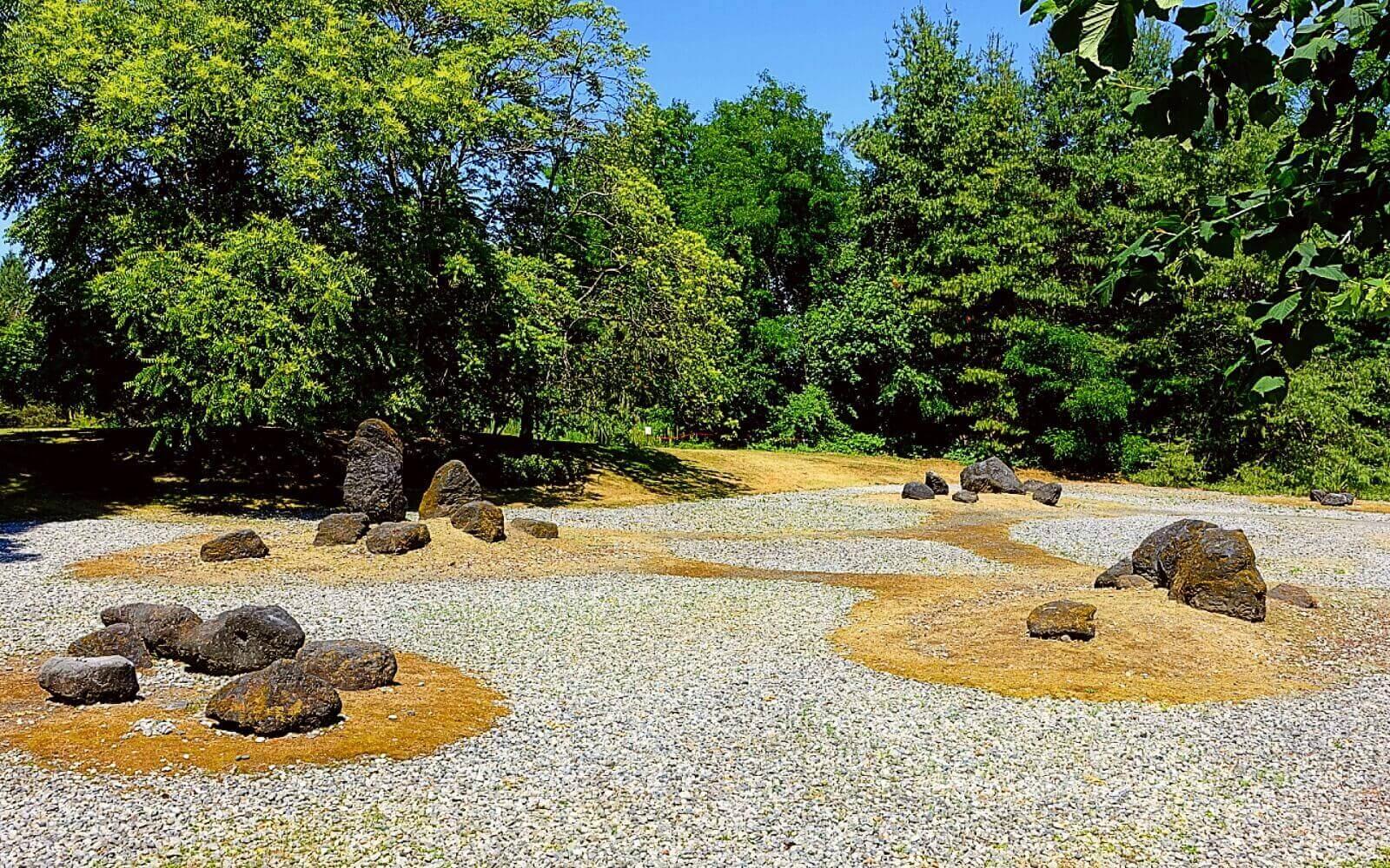 The Stone Garden at VanDusen Garden
