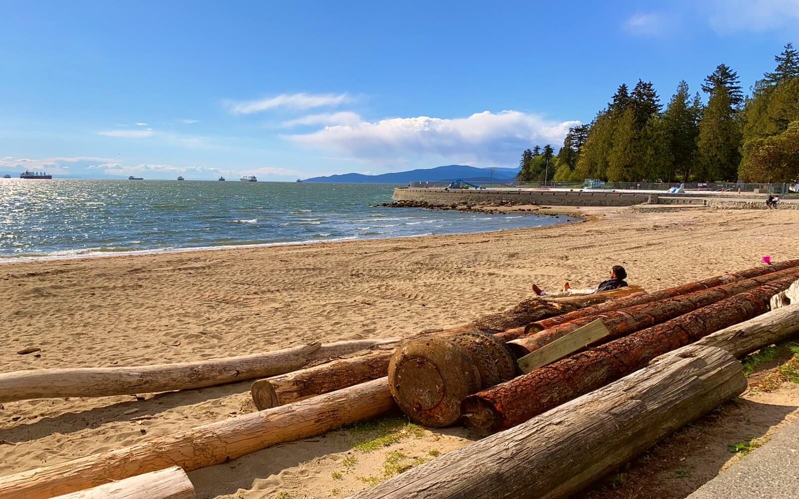 Second Beach at Stanley Park