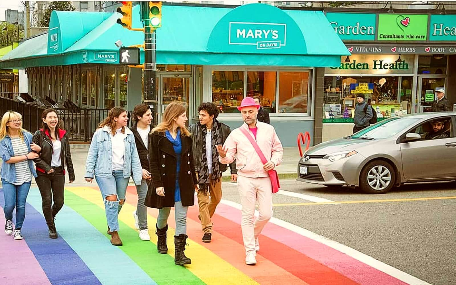 Customers on the Really Gay Walking Tour