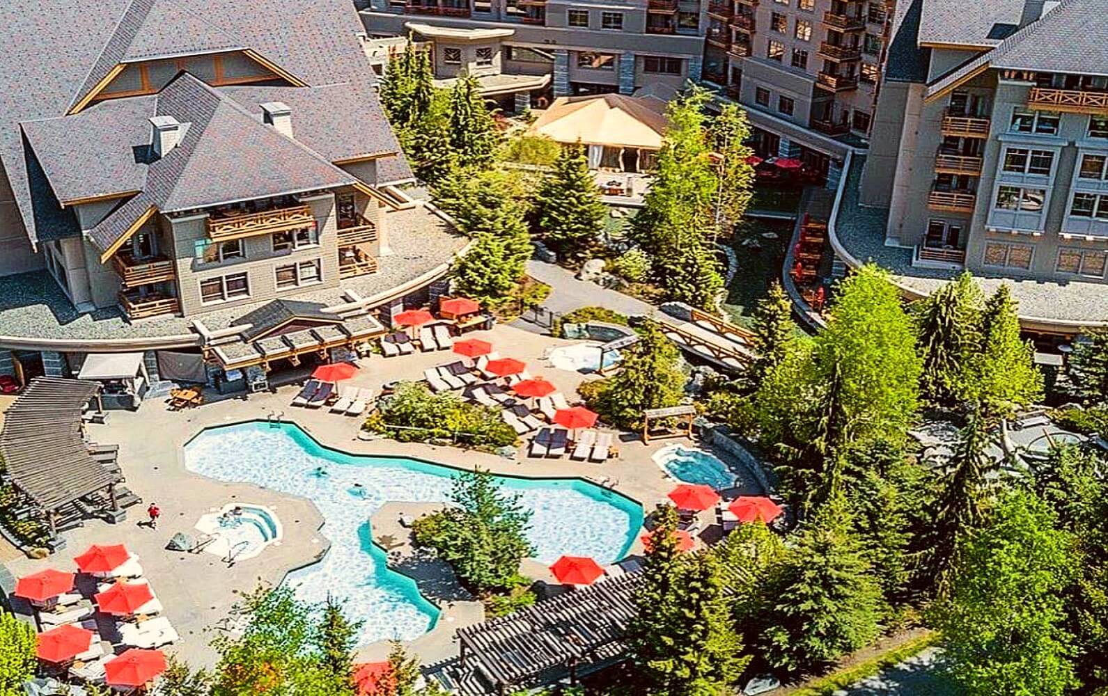An overview of the Four Seasons Resort Whistler