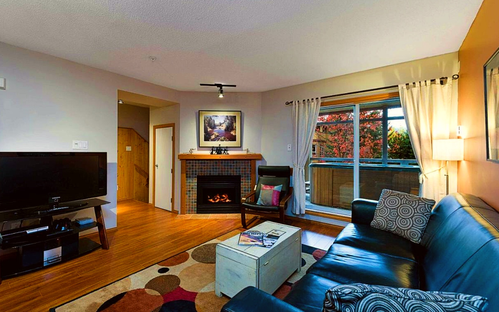 A rental apartment at Glaciers Reach, Whistler Village