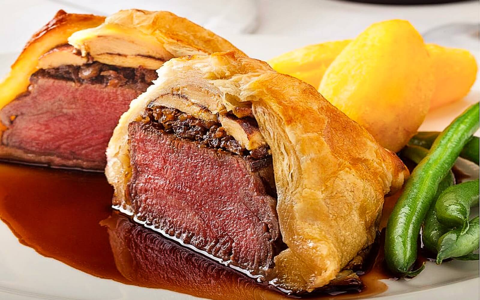 A Beef Wellington at Hys, Whistler