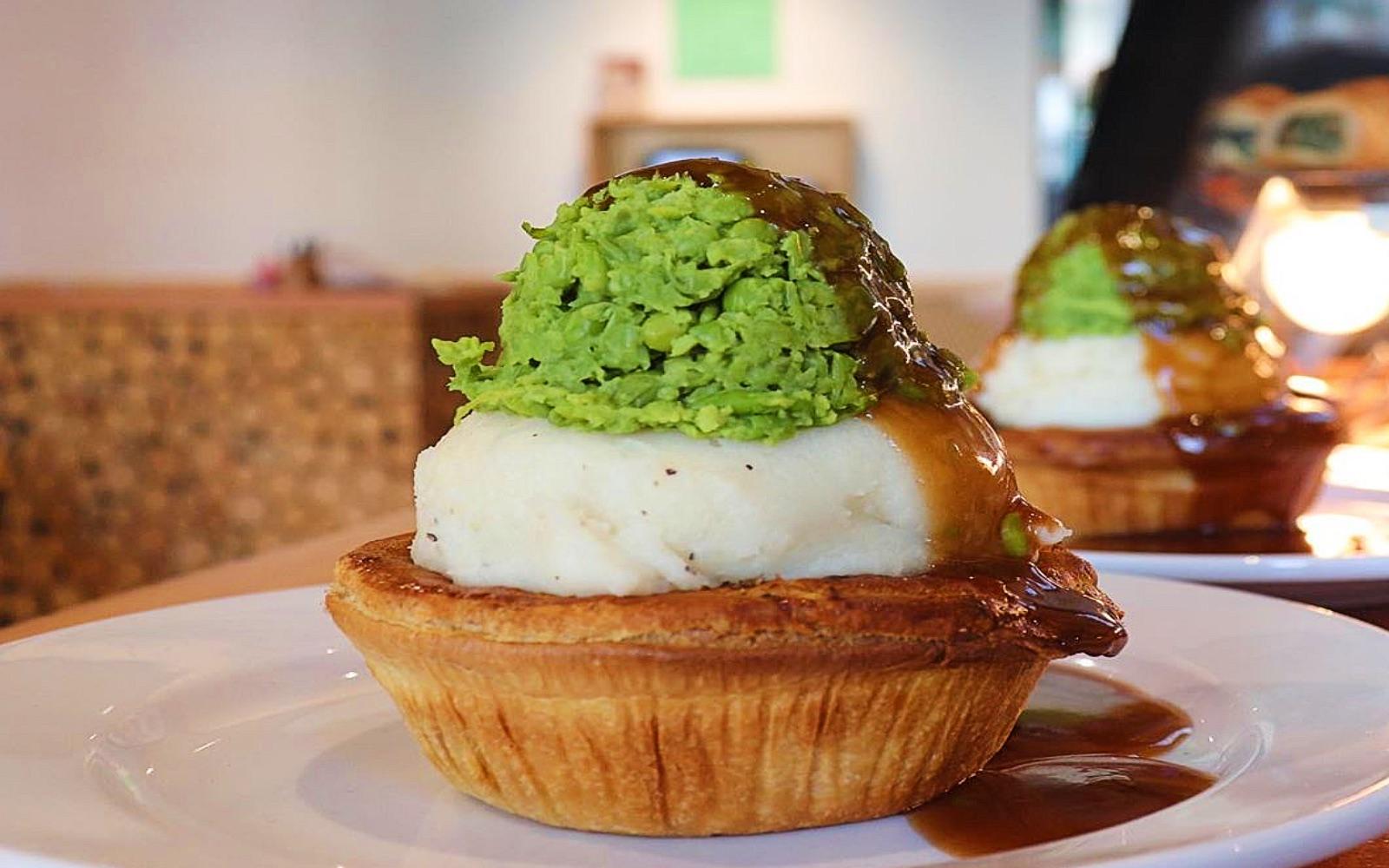 A peaked Australian meat pie, Peaked Pies