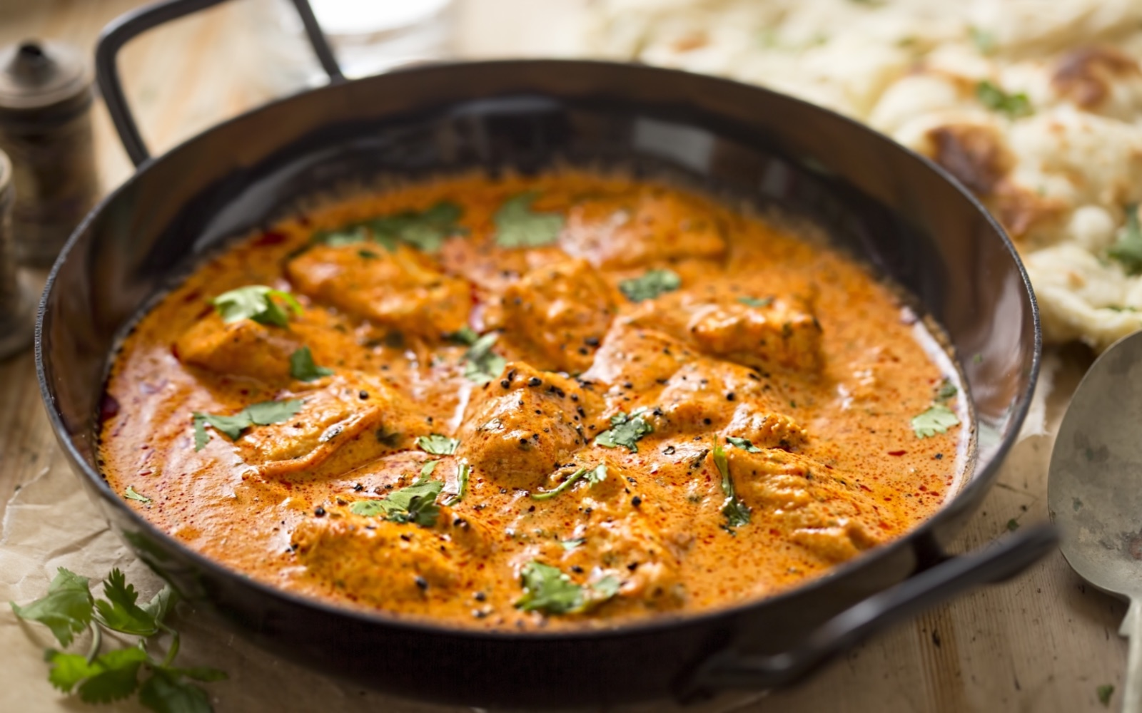 Butter chicken at Tandoori Grill