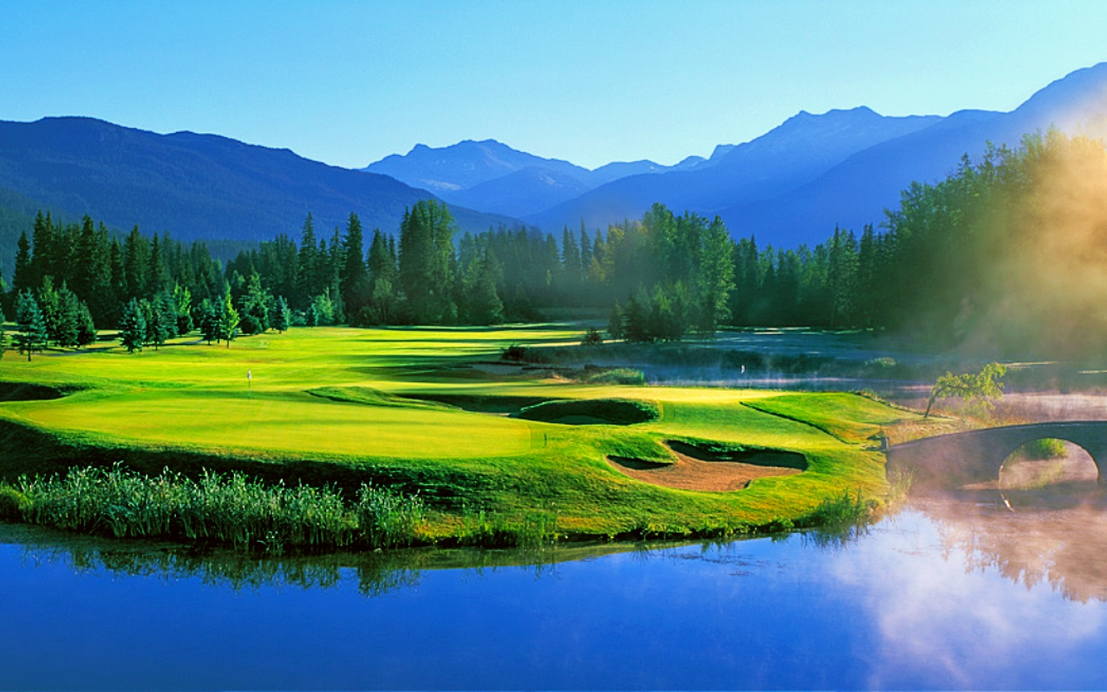 The Nicklaus North golf course, Whistler