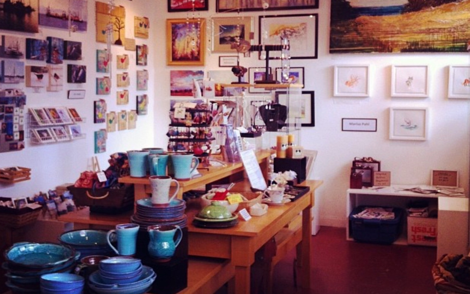 A look inside at the Arts off Main Co-op, Commercial Drive