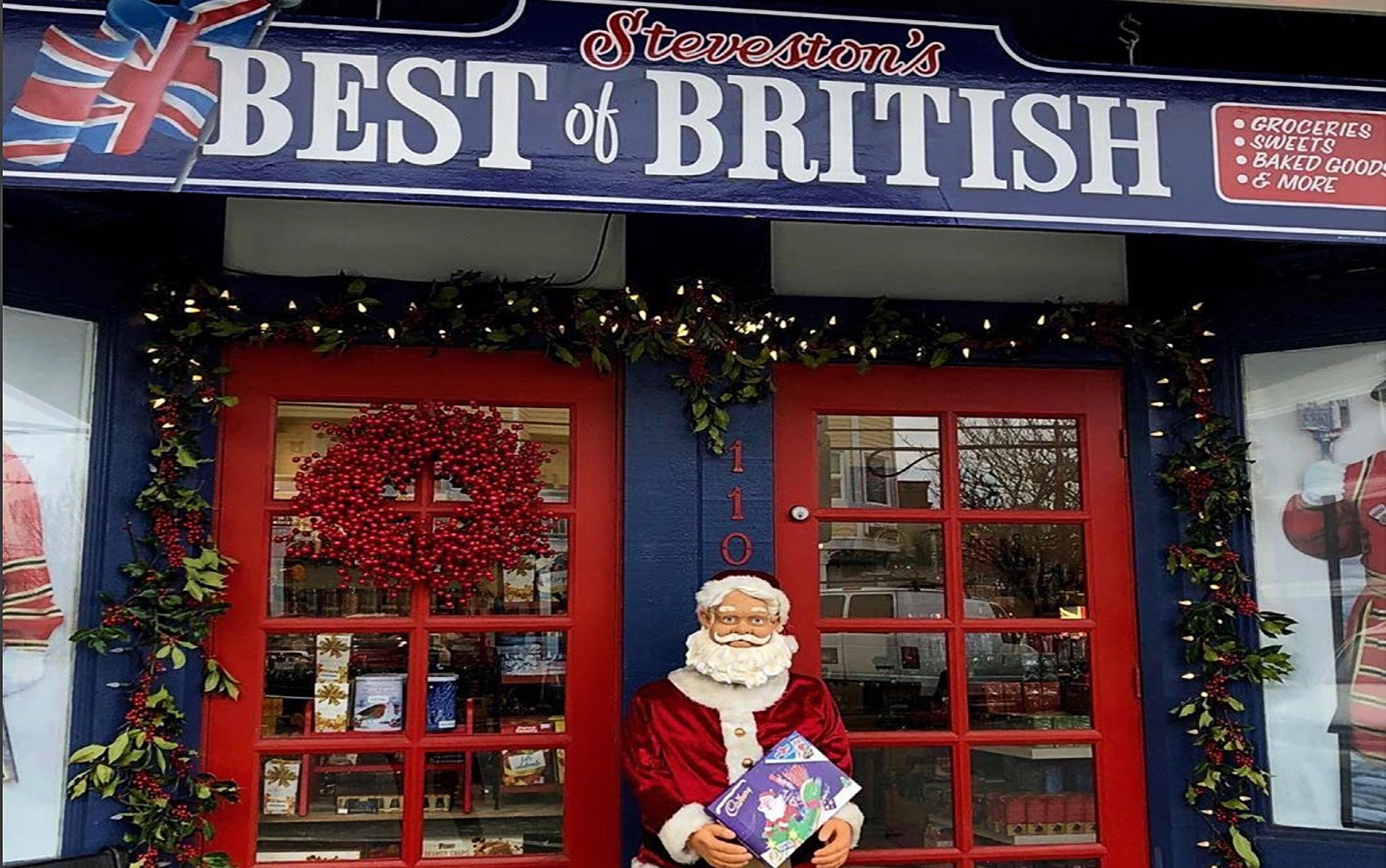 The storefront of Steveston's Best of British