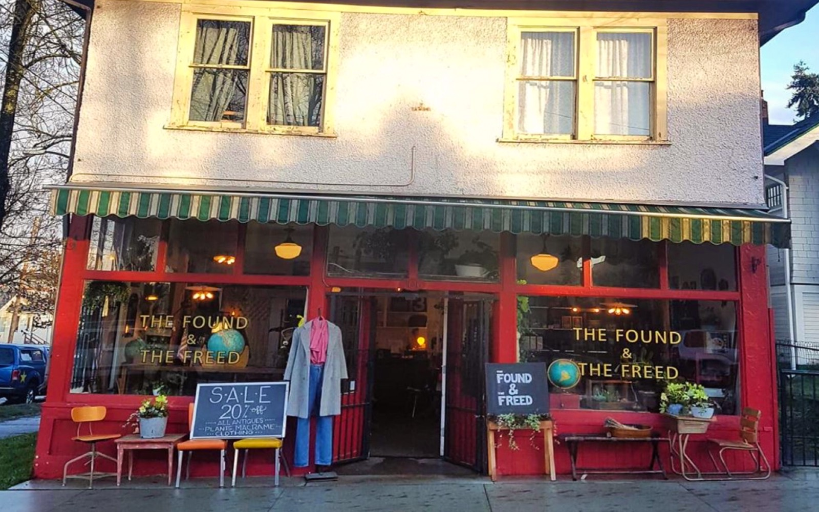 The entrance to Found and Freed, Commercial Drive