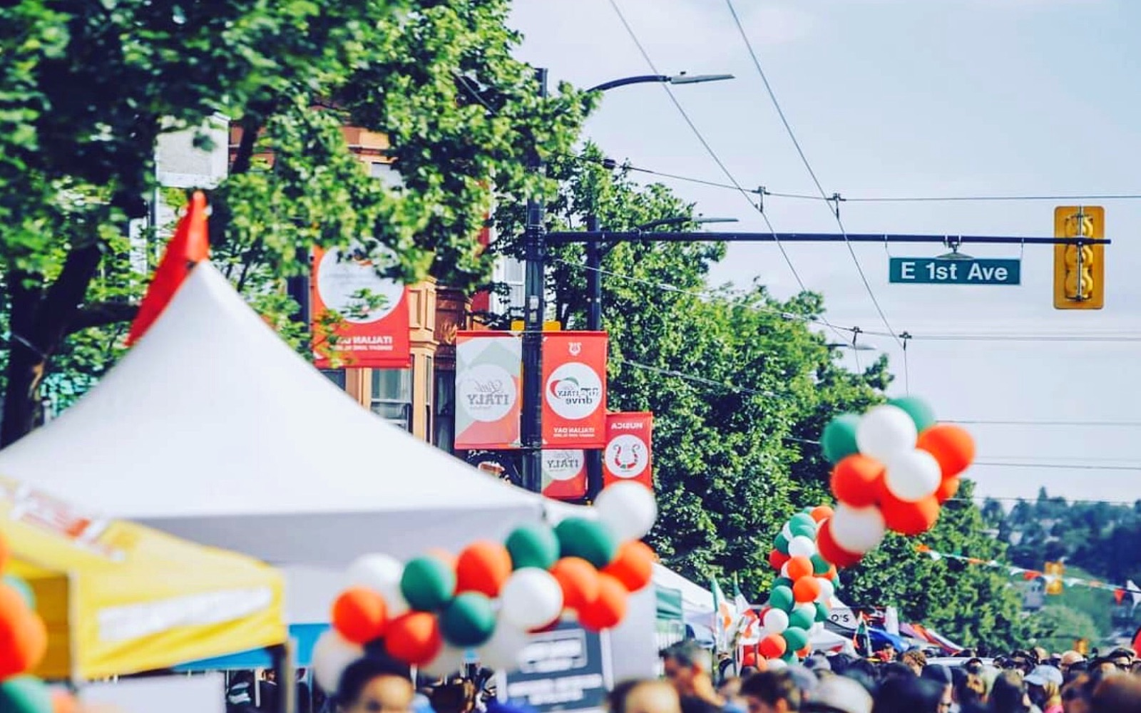 Italian Day on Vancouver's Commercial Drive