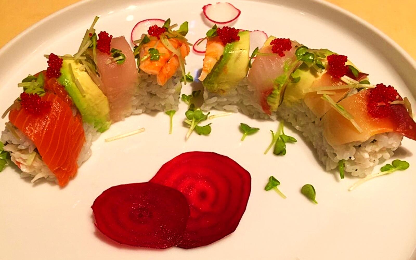 The Moncton Roll at Ora Sushi, Steveston BC