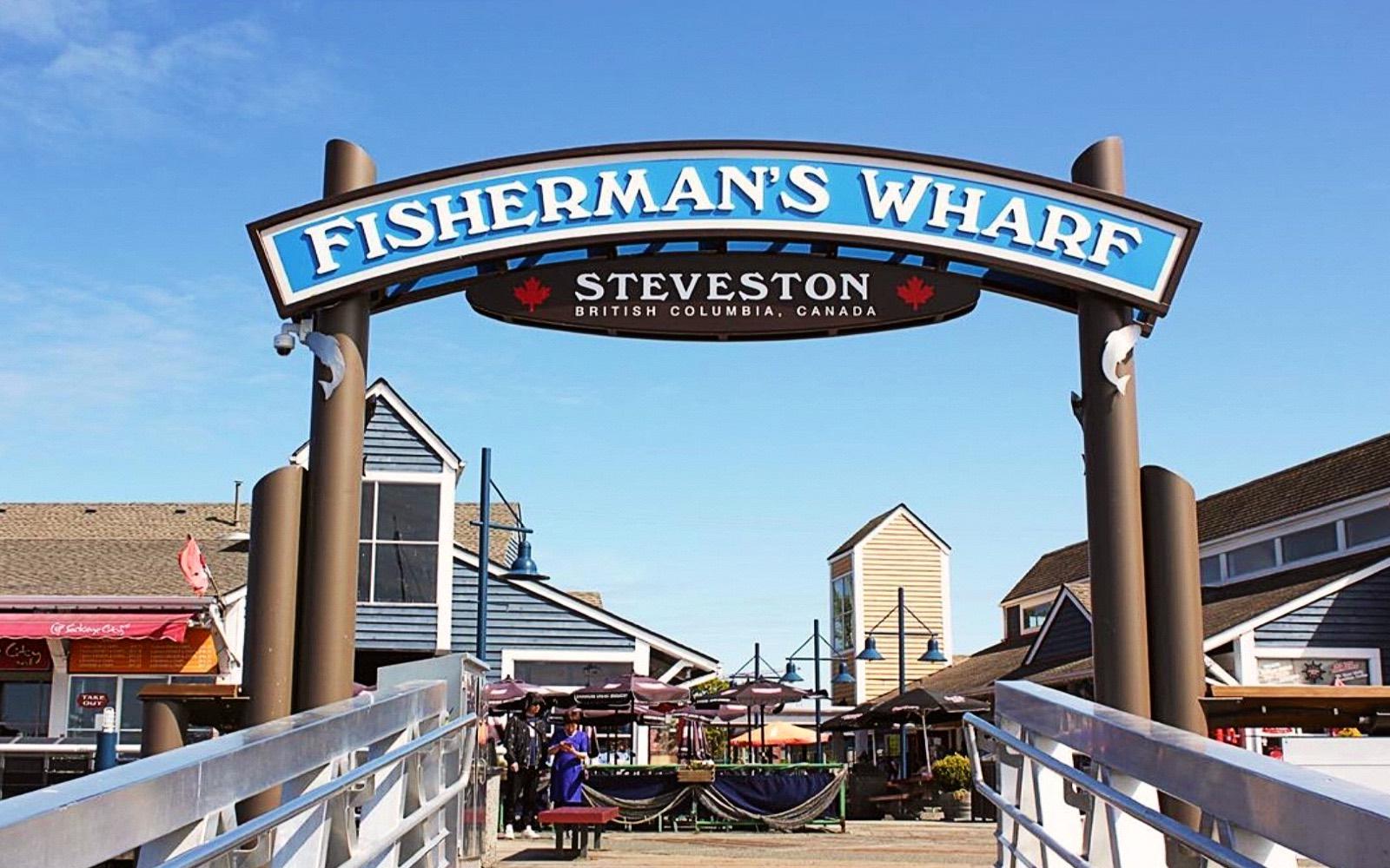 The entrance to Fisherman's Wharf, Steveston