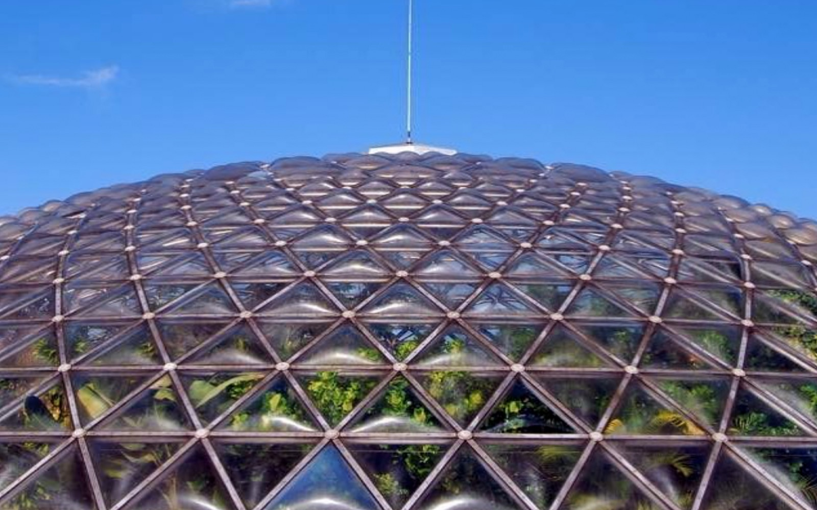 The exterior of the Bloedel Conservatory, Vancouver
