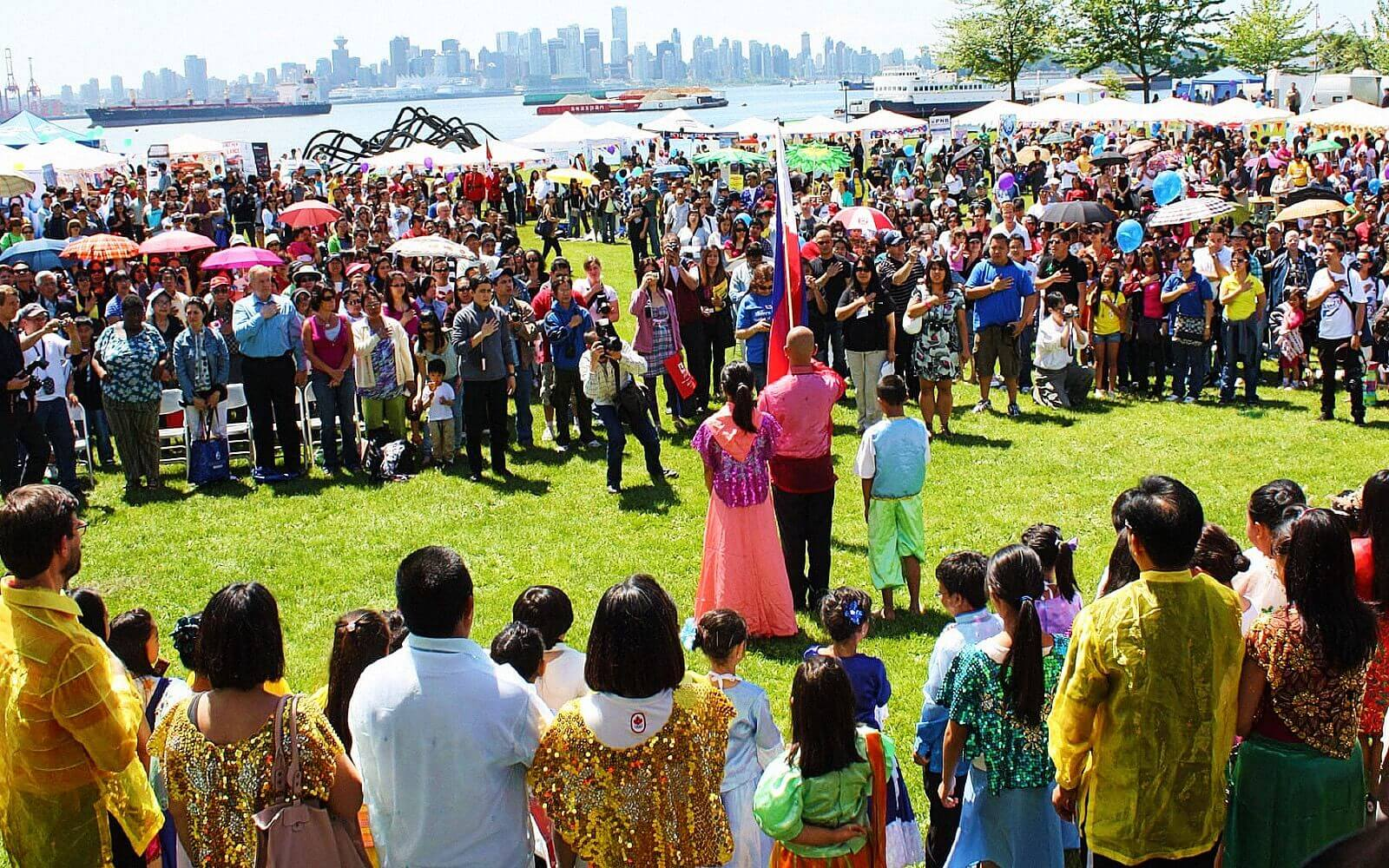 Philippine Days. Waterfront Park North Vancouver