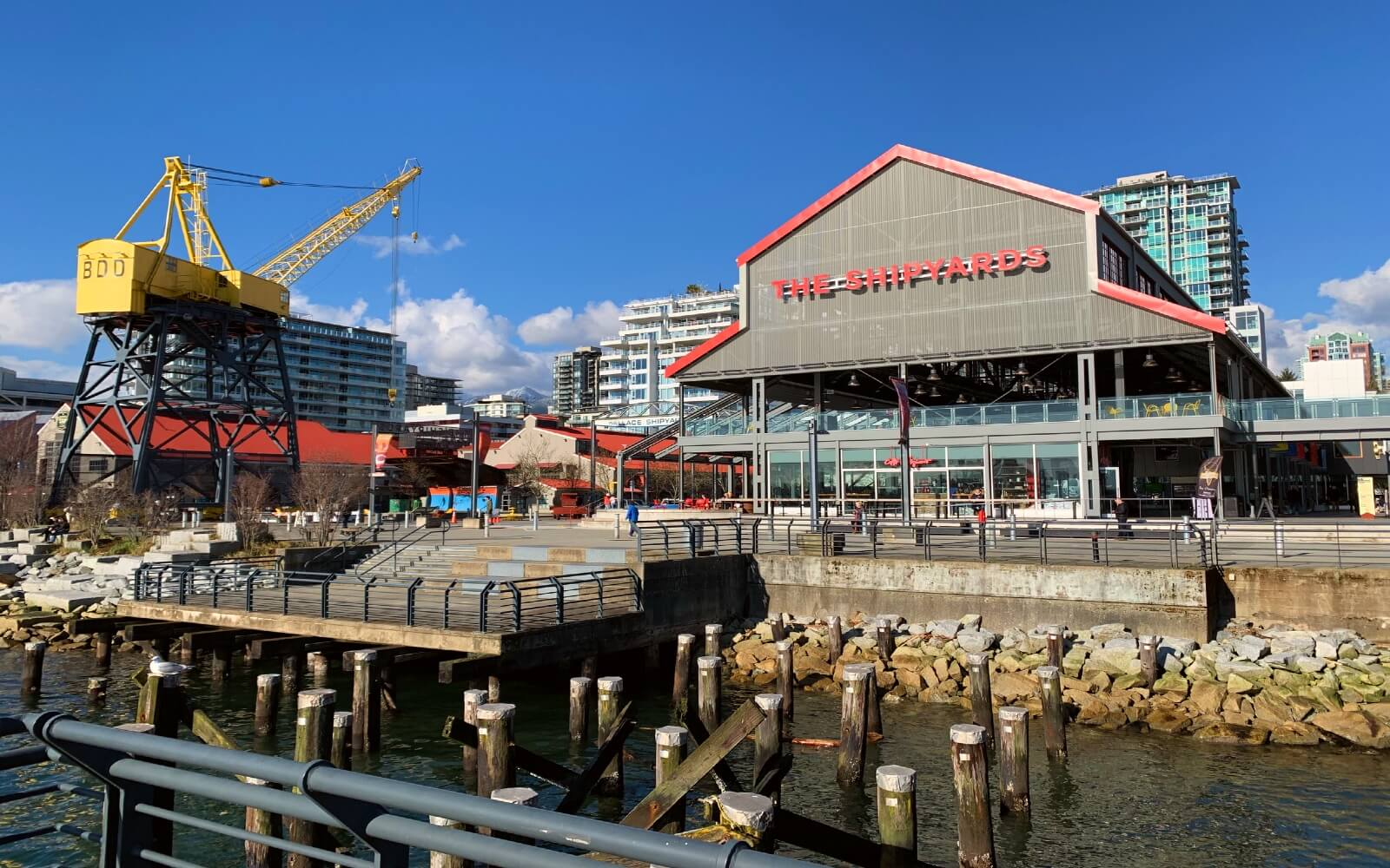 The Shipyards District, North Vancouver