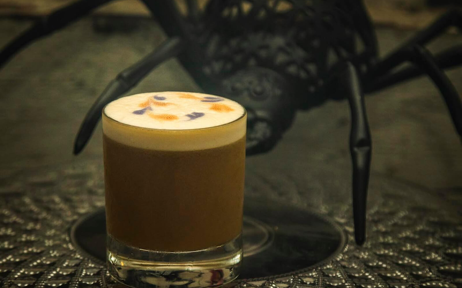 coffee-inspired cocktail at uva wine bar vancouver