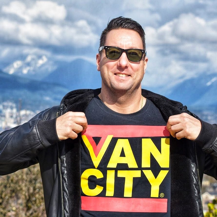 vancouver travel blog creator julian pilfold at queen elizabeth park